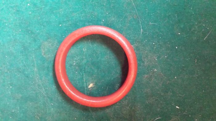 Chinese red nephrite jadebangle
