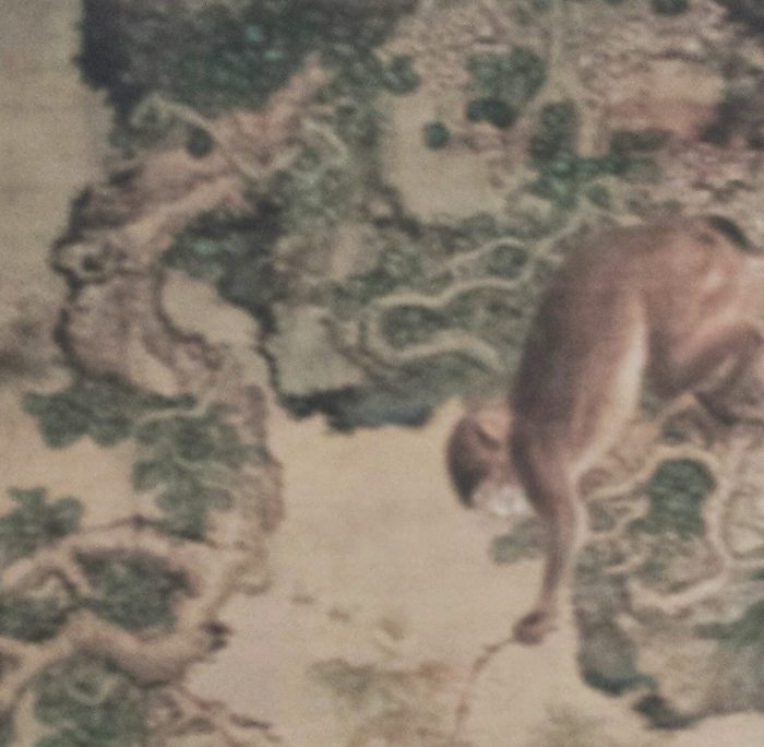 Chinese antique painting by Shen Quan