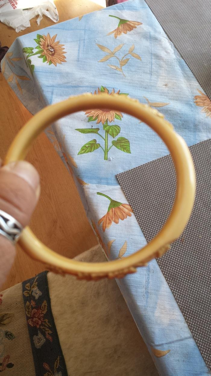 Ivory bangle